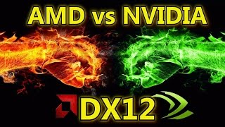 getlinkyoutube.com-DirectX 12 Analysis & Benchmarks - AMD Knocks Nvidia Out In The First Round?