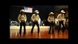 "getlinkyoutube.com-Country Line Dance ""Harley"" - HEART OF TEXAS-"