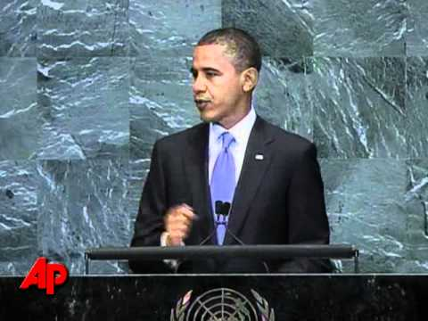 Obama to UN: Economy Saved From Depression