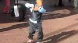 getlinkyoutube.com-Crank That Soulja Boy - KID CAN DANCE!