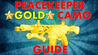 getlinkyoutube.com-Peacekeeper Gold Camo Guide | Black Ops 2 Revolution DLC Bonus Gun