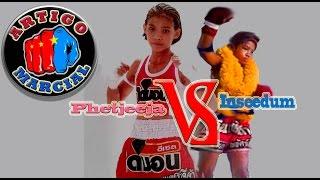 getlinkyoutube.com-👊Muay Thai Kids   Phetjeeja girl vs inseedum pubteratum boy