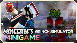 getlinkyoutube.com-MineCraft : MiniGame - Grinch Simulator 賊仔偷禮物 !