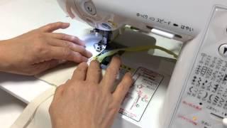 getlinkyoutube.com-主婦のミシン ファスナーのきれいな縫い方