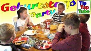 getlinkyoutube.com-Geburtstags Party Spielzeug Geschenke Flaschendrehen Basteln Spielen Pommes Muffins Kinderkanal