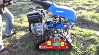 getlinkyoutube.com-Ciągnik jednoosiowy BCS 630 WS Max na gąsienicach