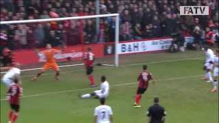 Bournemouth vs Liverpool 0-2, FA Cup Fourth Round 2013-14 highlights