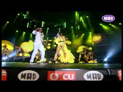 Mohombi feat. Κατερίνα Στικούδη - Coconut Tree (live at MAD VMA 2011)
