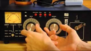 getlinkyoutube.com-Ham Radio Tutorial - How To Use An Antenna Tuner