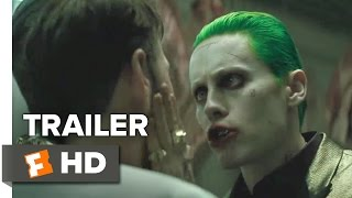 getlinkyoutube.com-Suicide Squad TRAILER 1 (2016) - Will Smith, Jared Leto Movie HD