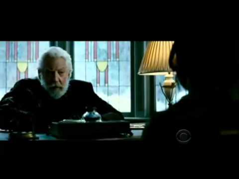 Welcome to District 12: WATCH: New Clip of President Snow and Katniss
