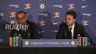 Live: Chelsea FC present new head coach Maurizio Sarri width=