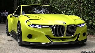 getlinkyoutube.com-BMW 3.0 CSL Hommage WORLD DEBUT - Start Up Sound, Rev, Overview & Driving
