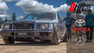 getlinkyoutube.com-Mercedes 190E Drift Car