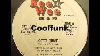 "getlinkyoutube.com-One On One - Gotta Thang (12"" Funk 1984)"