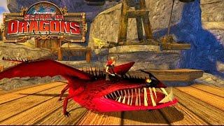 getlinkyoutube.com-How to Train Your Dragon : School of Dragons #5 ' FIREBALL FRENZY'