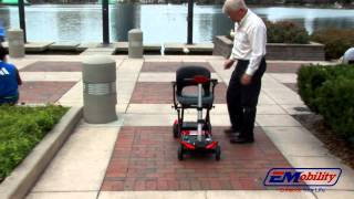 getlinkyoutube.com-Electric Folding Mobility Scooter - The Transformer Mobility Scooter