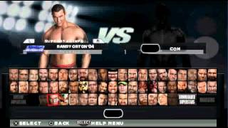 getlinkyoutube.com-WWE 2K15 For PSP | Full Roster Without DLC'S |