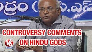 getlinkyoutube.com-Prof Kancha Ilaiah article controversy on Hindu god - Teenmaar News (23-05-2015)