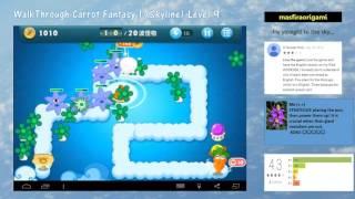 getlinkyoutube.com-Carrot Fantasy Skyline Level 9 Golden Carrot