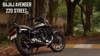getlinkyoutube.com-Bajaj Avenger 220 street | Review | MVR