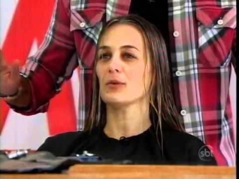 Esquadrão da Moda - Rodrigo Cintra transforma cabelo de Érica