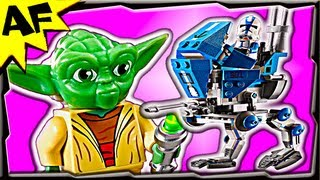 getlinkyoutube.com-AT-RT 75002 Lego Star Wars Animated Building Review