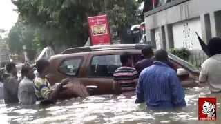 getlinkyoutube.com-A duster car floats like a boat | Chennai flood