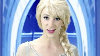 getlinkyoutube.com-Disney Frozen Elsa Let it Go - In Real Life