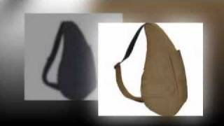 getlinkyoutube.com-Healthy Back Bag Women's Distressed Nylon Small Sling Backpacks