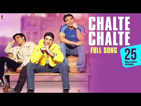 &quot;Chalte Chalte&quot; - Song - MOHABBATEIN -hMpf6fFoQXA