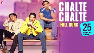 getlinkyoutube.com-Chalte Chalte - Full Song - Mohabbatein