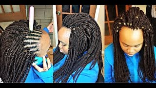 getlinkyoutube.com-#81. UNDETECTABLE CROCHET SENEGALESE TWIST