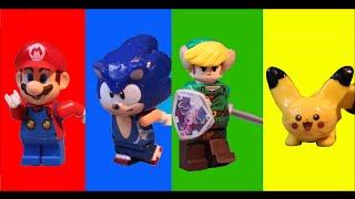 getlinkyoutube.com-THE LEGO SUPER SMASH BROS. MOVIE!!