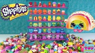 getlinkyoutube.com-Shopkins Rainbow Collector Case Let's Decorate DIY Season 1 2 3 4   PSToyReviews