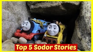getlinkyoutube.com-Thomas and Friends Accidents Happen Toy Trains Thomas the Tank Engine Episodes Compilation Top 5