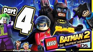 getlinkyoutube.com-LEGO BATMAN 2 3DS Walkthrough Part 4 Arkham Asylum