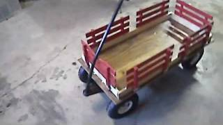 getlinkyoutube.com-Rebuilt Radio Flyer Wagon