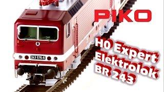 getlinkyoutube.com-PIKO [V026] H0 Expert E-Lok BR 243 - Modellvorstellung