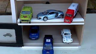 getlinkyoutube.com-Мультики про машинки, новый гараж для машинок, мультики для детей, развивающие мультики