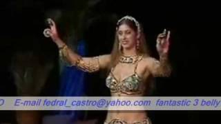 getlinkyoutube.com-shakira vs jennifer lopez vs sadie's fantastic belly dance