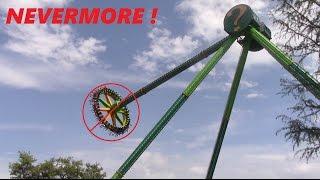 I will never ride Riddler's Revenge again at Six Flags over Texas