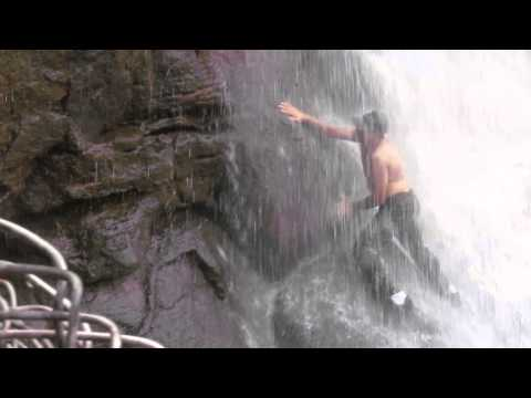 Bhaja Water fall Climb1