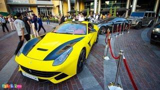 getlinkyoutube.com-black & yellow Ferrari F12 Berlinetta