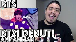 BTS   BT21 DEBUT! Anpanman Reaction