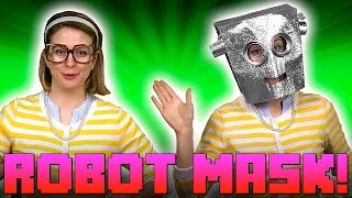 getlinkyoutube.com-Robot Mask! Crafts for Kids - w/ Crafty Carol at Cool School