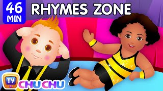getlinkyoutube.com-Head, Shoulders, Knees and Toes | Popular Nursery Rhymes Collection for Kids | ChuChu TV Rhymes Zone