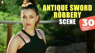getlinkyoutube.com-Antique Sword Robbery - Scene - Dhoom:2