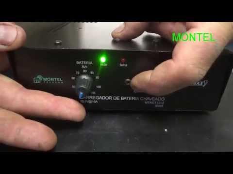 Tonella  - carregador de bateria eletrônico MONTEL