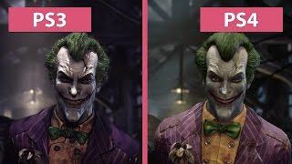 getlinkyoutube.com-Batman Arkham Asylum – PS3 vs. PS4 Return to Arkham Remaster Graphics Comparison